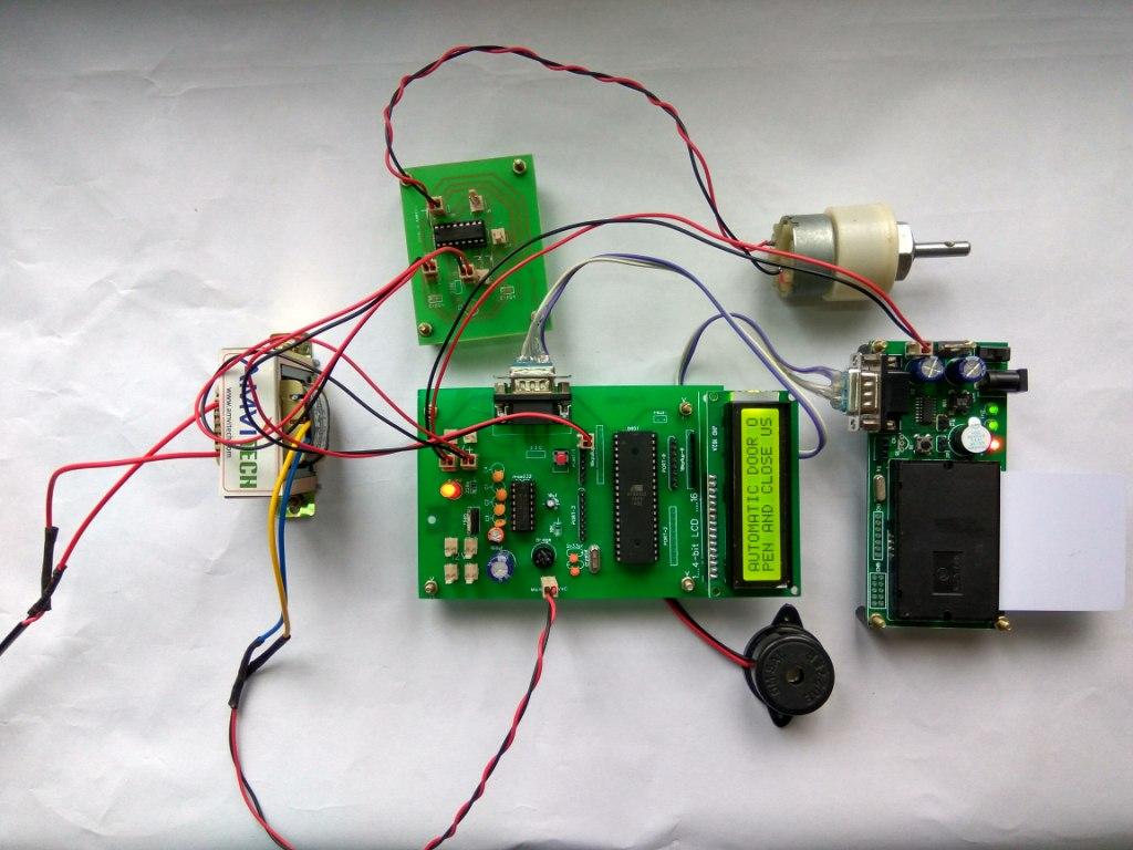 Arduino Code For Automatic Door Opener