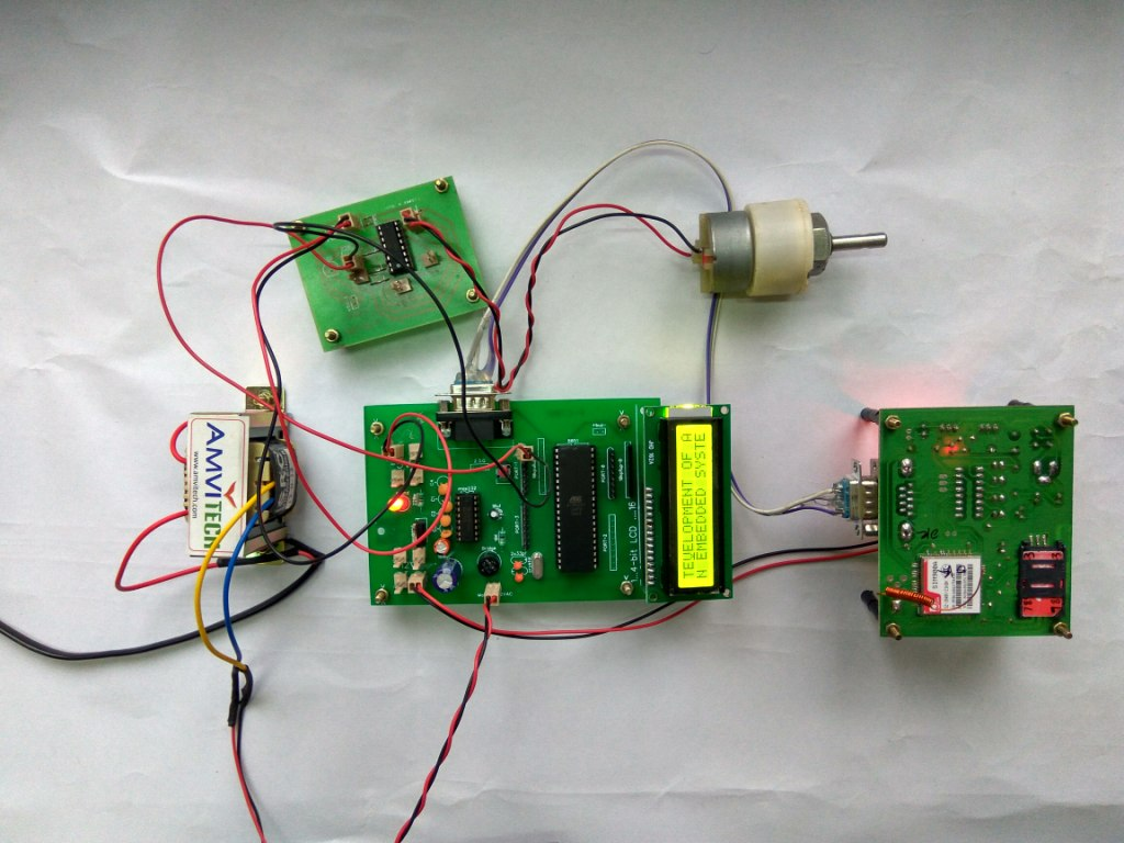 unmanned railway gate This project is a standalone automatic unmanned railway gate control system using bcm 2835 microcontroller.